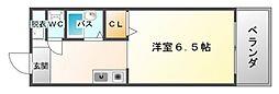 イーズIII[4階]の間取り