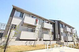 愛知県豊田市堤町丸山の賃貸アパートの外観