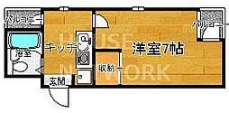 COMODO94[401号室号室]の間取り