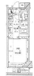 モデコ武蔵小山[5階]の間取り