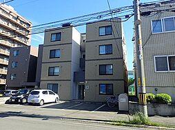 北海道札幌市東区北36条東16丁目の賃貸マンションの外観