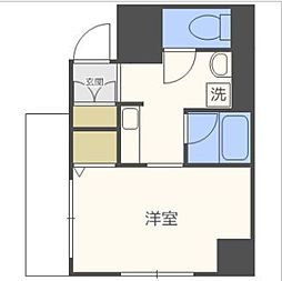 TTH東梅田[8階]の間取り