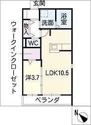 シェトワ新栄[3階]の間取り