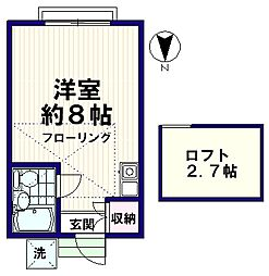 MENE13[2階]の間取り