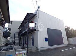 兵庫県三木市本町1丁目の賃貸アパートの外観