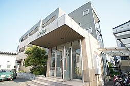 福岡県古賀市千鳥2丁目の賃貸マンションの外観