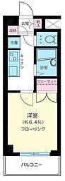 東京都新宿区中井2丁目の賃貸マンションの間取り