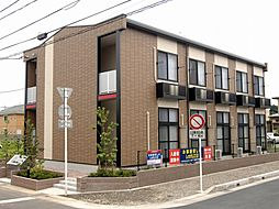 千葉県流山市大字西平井の賃貸アパートの外観