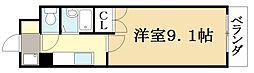 ニュードミトリーKATO[2階]の間取り