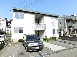石川県加賀市松が丘3丁目の賃貸アパートの外観