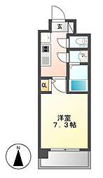 S−FORT大須観音(エスフォート)[14階]の間取り