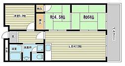 レナジア姫路WEST[3階]の間取り