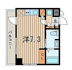 横浜翠葉BuildingI[7階]の間取り