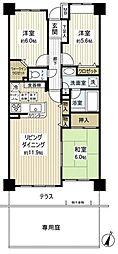 グラン・コート習志野駅前[1階]の間取り