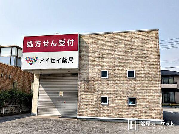愛知県岡崎市欠町字金谷の賃貸マンションの外観
