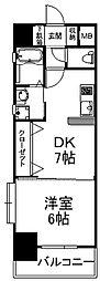 Bay Side Asano[209号室]の間取り