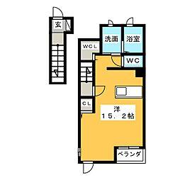 シャンドフルール五反田[2階]の間取り
