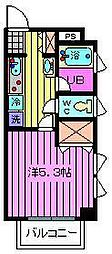 ボナール八雲[301号室]の間取り