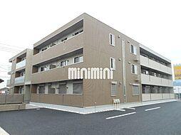 愛知県北名古屋市弥勒寺東2の賃貸アパートの外観