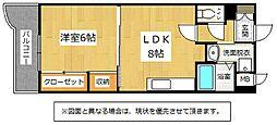 ヒット砂津BLD[4階]の間取り