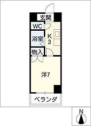 メゾンキムラII[5階]の間取り