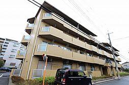 大阪府吹田市長野西の賃貸マンションの外観