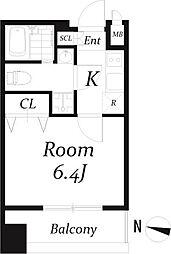 アクアタウンEAST1[4階]の間取り