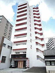 福岡県北九州市戸畑区元宮町の賃貸マンションの外観