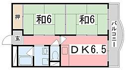 ダイヤマンション[3-C号室]の間取り