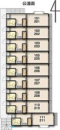 レモンハウス高坂8[106号室]の間取り