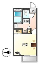 レオパレス高蔵[2階]の間取り