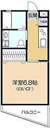 Aifort久米川[3階]の間取り