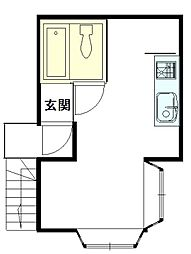 シーサイドOISO22階Fの間取り画像