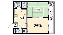 サンライズハウス[203号室号室]の間取り