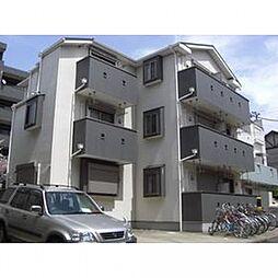 千葉県松戸市八ケ崎7丁目の賃貸アパートの外観