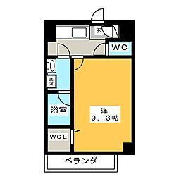 駅前町新築マンション[6階]の間取り
