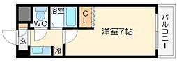 新大阪アネックス土井マンションA棟[9階]の間取り