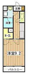 ドリット[2階]の間取り