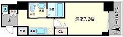 ステージグランデ堺筋本町[6階]の間取り