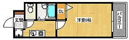 アーバンフジ[3階]の間取り