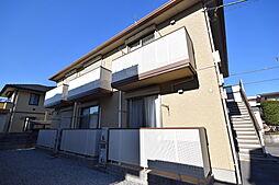 栃木県宇都宮市東原町の賃貸アパートの外観