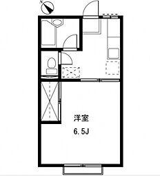 コンフォート桜台[102号室号室]の間取り