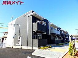 三重県四日市市松寺1丁目の賃貸アパートの外観