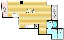 木ビル[2階]の間取り