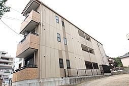 愛知県名古屋市名東区社が丘3丁目の賃貸アパートの外観
