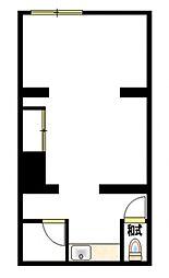 コーポ徳延I[1階]の間取り