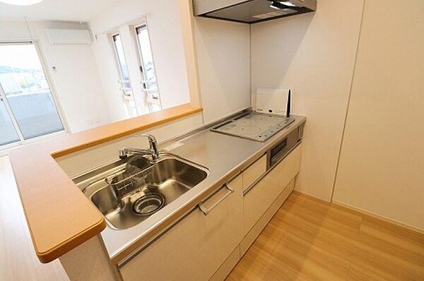 ゼフィール Aのキッチン A301