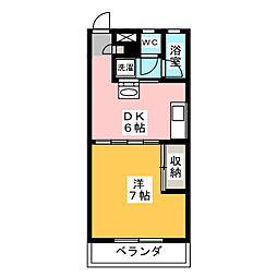 コーラルマンション[2階]の間取り
