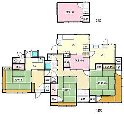 [一戸建] 神奈川県横須賀市富士見町3 の賃貸【/】の間取り