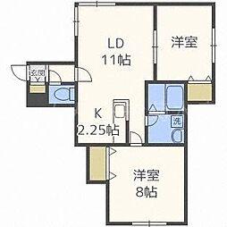 confort[2階]の間取り